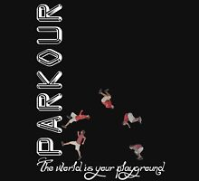 Parkour - The World is Your Playground Black T-Shirt