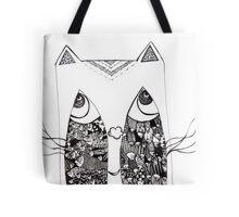 Cat Paradox Tote Bag