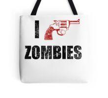 I Shotgun Zombies/ I Heart Zombies  Tote Bag