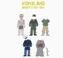 Homeland - Brody's cut-out by garigots