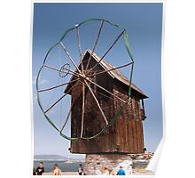 Wind Powered Shed Poster