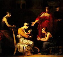 andromache and astyanax by Adam Asar