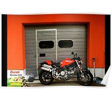 Ducati Monster S2R 800 Poster