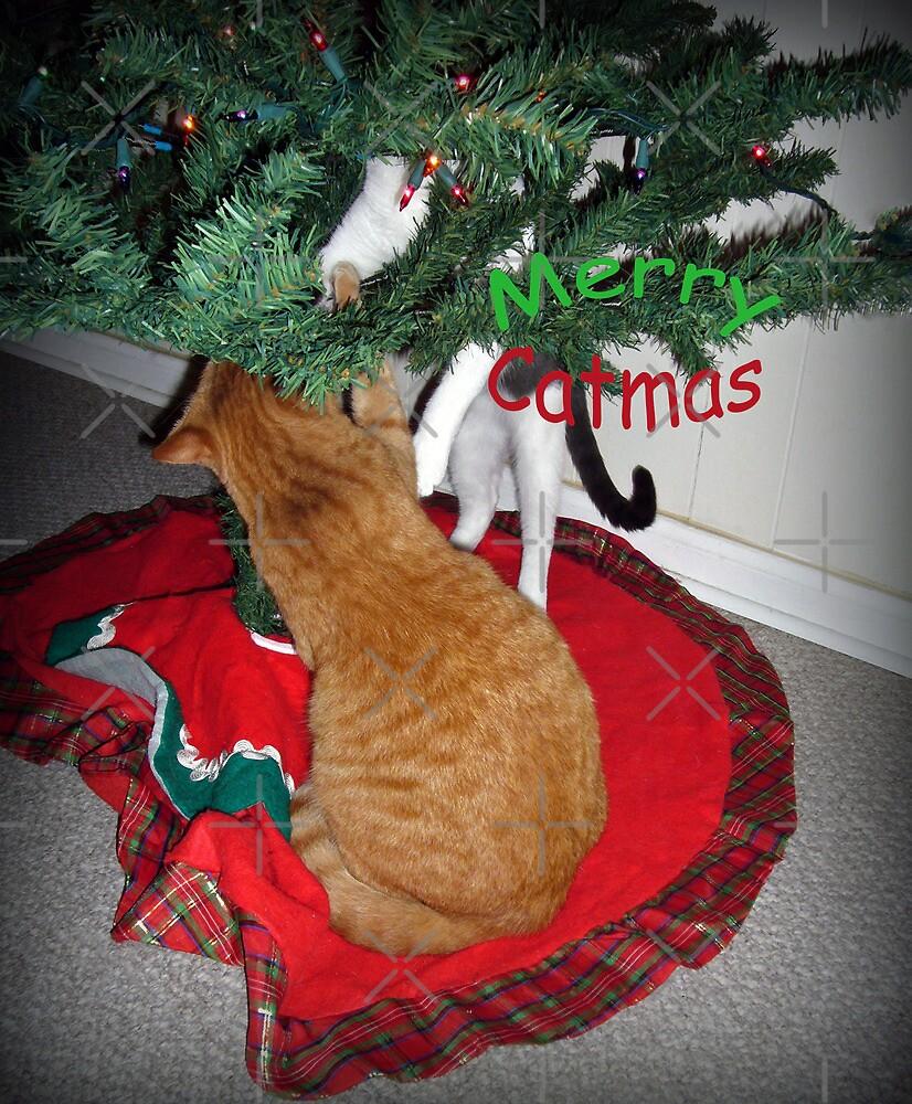Merry Catmus  by FrankieCat
