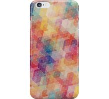 Geometric Rainbow iPhone Case/Skin