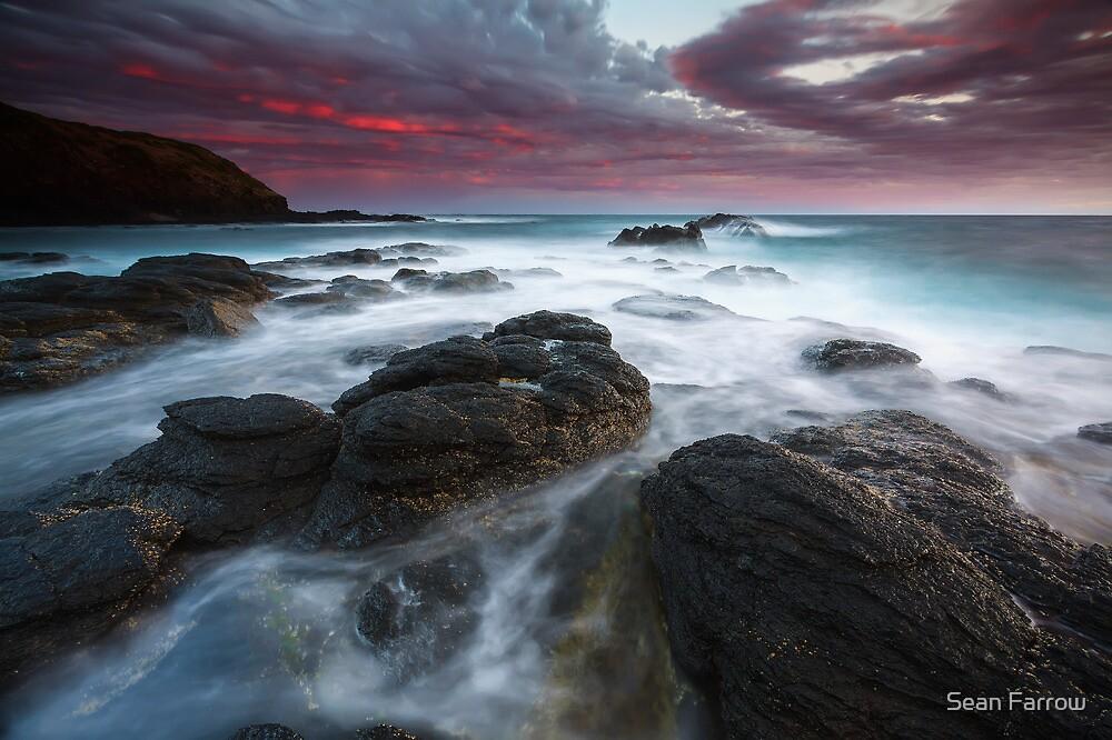 Storm Blast - Flinders, Victoria, Australia by Sean Farrow