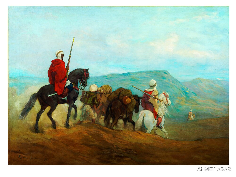 Arab Horse Soldiers; Spahis, Guillaume Régamey, 1871 by MotionAge Media