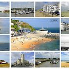 Isle of Wight Collage 01 - Labelled  by Rod Johnson