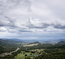 Clouds over Moonbi - NSW - Australia by Norman Repacholi