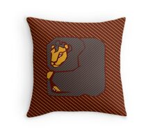 House Pillow: brave at heart Throw Pillow