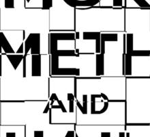 Smoke Meth and Hail Satan  Sticker