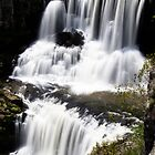 Crashing Peacefully - Ebor Falls - NSW - Australia by Norman Repacholi