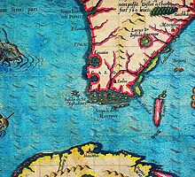 1280px 1591 De Bry and Le Moyne Map of Florida and Cuba Geographicus Florida debry 1591 part by Adam Asar