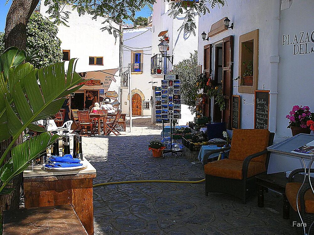 Sun And Shade In Ibiza by Fara