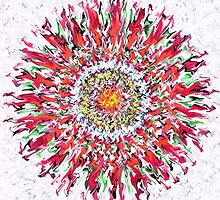 Flower - Messed Up Mandalas by IntoZero