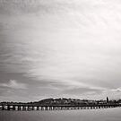 Endless Pier - Coffs Harbour - NSW - Australia by Norman Repacholi