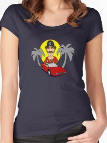 Magnum PI Women's Fitted Scoop T-Shirt
