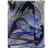 blue butterfly iPad Case/Skin