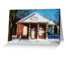 The Old Town Hall Greeting Card