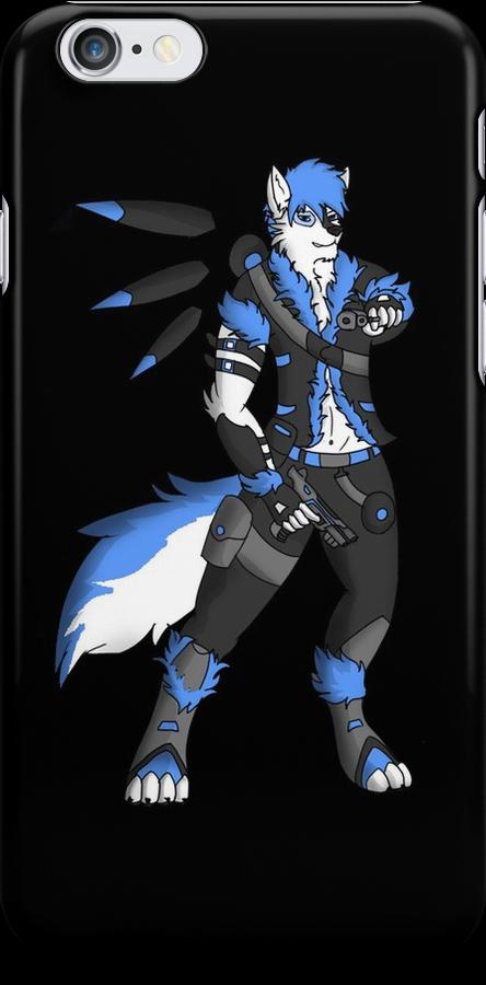 Cosmic Blue by WolfKen