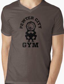 Pewter City Gym Mens V-Neck T-Shirt