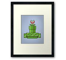 Pipeline Florist Framed Print
