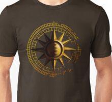 Simple Golden Sun Unisex T-Shirt