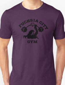 Fuschia City Gym Unisex T-Shirt