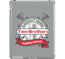 Two Brothers Plumbing iPad Case/Skin