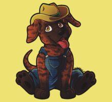 Plott Hound Puppy Kids Tee