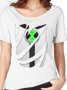 Torn Shirt - Ben 10 Women's Relaxed Fit T-Shirt
