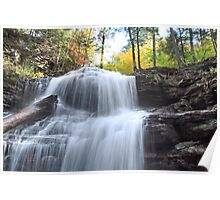 Top Of Shawnee Falls  Poster