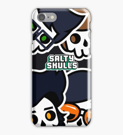 """""""A Rectangle With The Hosts' Faces Cut Off"""" iPhone Case/Skin"""