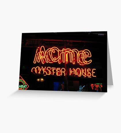 Acme Greeting Card