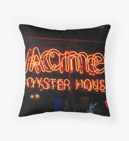 Acme Throw Pillow