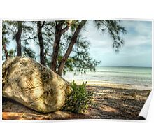 Yamacraw Beach in Nassau, The Bahamas Poster