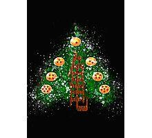 CHRISTMAS WITH DRAGON BALL Photographic Print