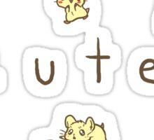 Hamster Cute Sticker
