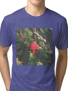 Red Shroomiebaby Tri-blend T-Shirt
