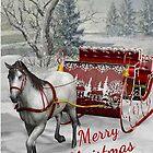 Christmas Sleigh Ride by Barbny