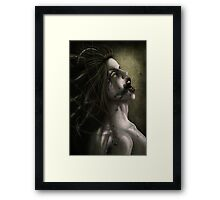 Bio Mechanical Oil Framed Print