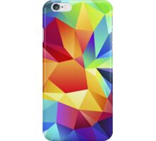 Rainbow Geometric iPhone Case/Skin