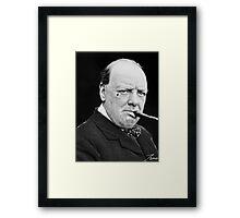 OG Winston  Framed Print