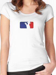 Major League Grimes Women's Fitted Scoop T-Shirt