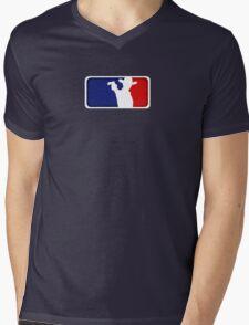Major League Grimes Mens V-Neck T-Shirt