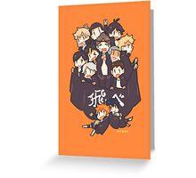 Haikyuu!! Team Karasuno Greeting Card