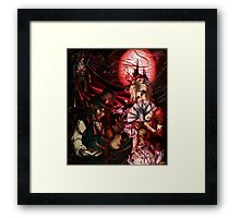 Vampire Collage Framed Print