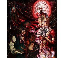 Vampire Collage Photographic Print