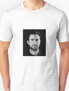 adam levine word face T-Shirt