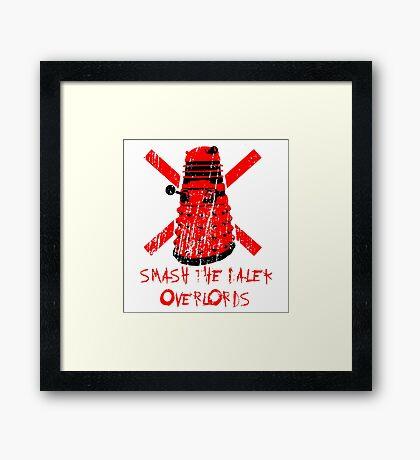 Dalek Overlords Framed Print
